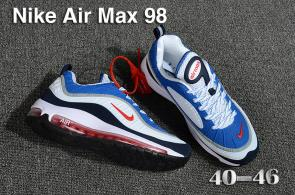 nike air max 98 france prix usine blue white